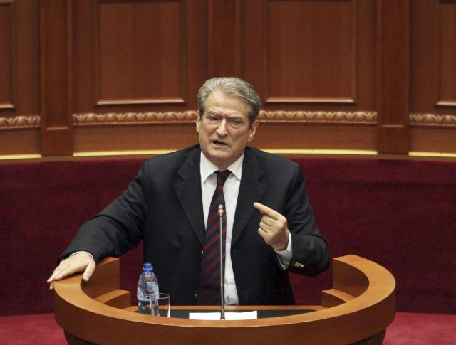 Μπερίσα : Ο αντιαλβανισμός και ο ανθελληνισμός δεν εξυπηρετούν σε τίποτα | tovima.gr