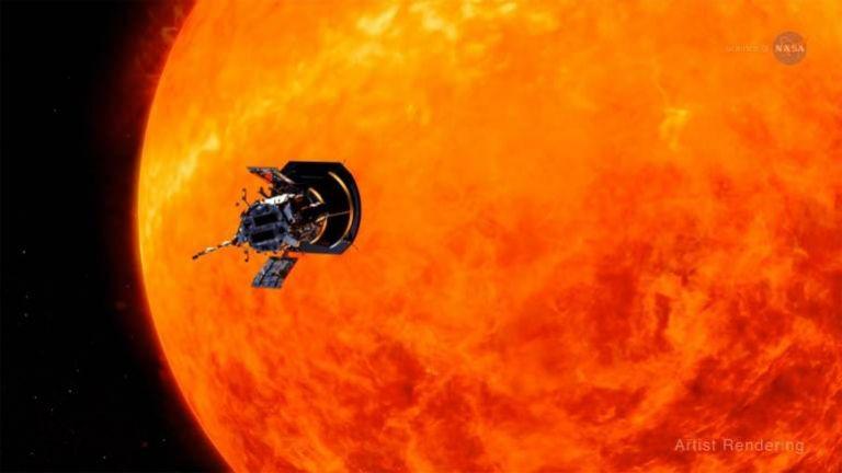 Tο Solar Parker της NASA πλησίασε τον ήλιο περισσότερο από κάθε άλλο ανθρώπινο κατασκεύασμα | tovima.gr