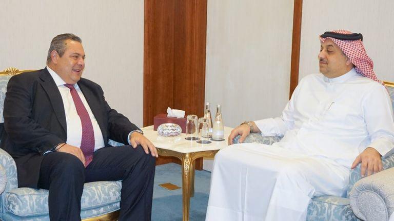 Με τον υπουργό Αμυνας του Κατάρ συναντήθηκε ο Π. Καμμένος – Τι συζήτησαν   tovima.gr