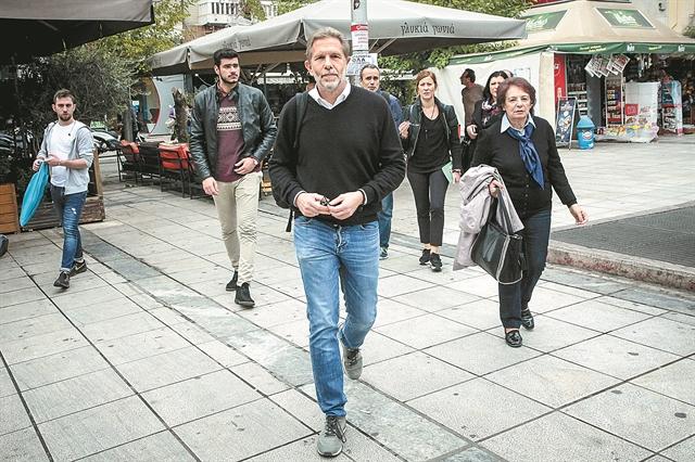 Παύλος Γερουλάνος: «Κάθε συλλογική στήριξη – και από κόμματα – είναι ευπρόσδεκτη» | tovima.gr