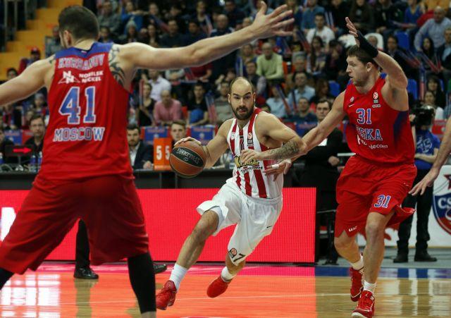 Euroleague LIVE : ΤΣΣΚΑ Μόσχας – Ολυμπιακός | tovima.gr