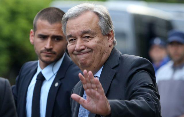 Γκουτέρες: Να προσφέρουμε στήριξη στους δημοσιογράφους | tovima.gr