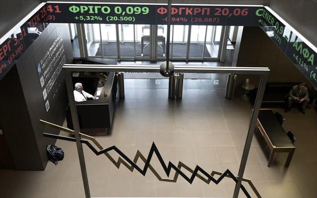 Οριακή πτώση στο Χρηματιστήριο Αθηνών την Πέμπτη | tovima.gr
