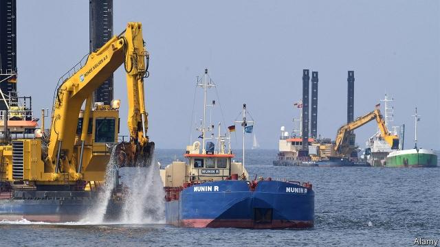 Nord Stream 2: Τοποθετήθηκαν περί τα 200 χιλιόμετρα αγωγού αερίου στην Βαλτική Θάλασσα | tovima.gr