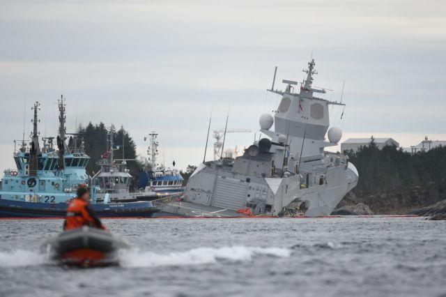 Νορβηγία: Ελληνικό το τάνκερ που συγκρούστηκε με τη νορβηγική φρεγάτα | tovima.gr