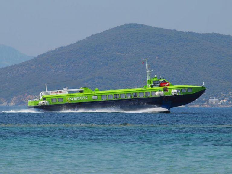 Επέστρεψε στον Πειραιά το Flying Dolphin ΧVII   tovima.gr