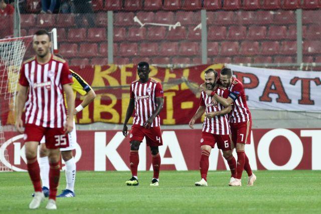 Πεντάσφαιρος Ολυμπιακός σάρωσε τη Ντουντελάνζ και βλέπει… ντέρμπι | tovima.gr