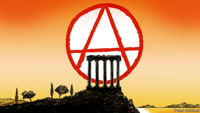 Concerns of government cover of Rouvikonas anarchist group's attacks raised by The Economist | tovima.gr