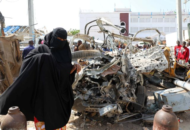 Σομαλία: 53 τα θύματα της τριπλής βομβιστικής επίθεσης σε ξενοδοχείο στο Μογκαντίσου | tovima.gr