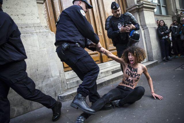 Δέκα χρόνια κινητοποιήσεων συμπλήρωσαν οι Femen | tovima.gr