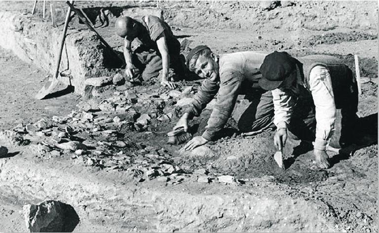 Η ανασκαφή των Ναζί κατά τη διάρκεια της κατοχής | tovima.gr