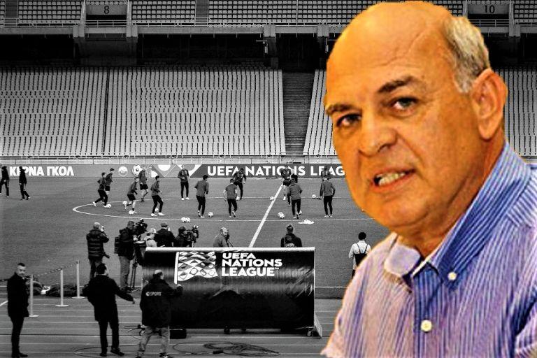 Εθνική Ελλάδας : Ντροπή της ΕΠΟ του Γραμμένου η εικόνα του ΟΑΚΑ | tovima.gr