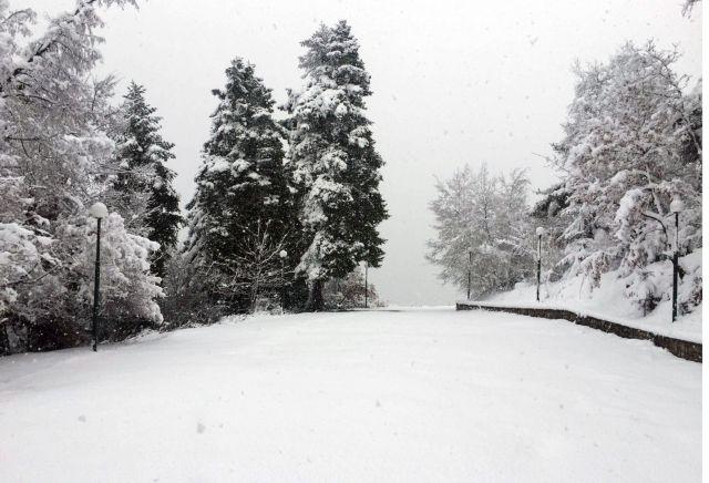 Στα «λευκά» τα ορεινά του νομού Λάρισας | tovima.gr