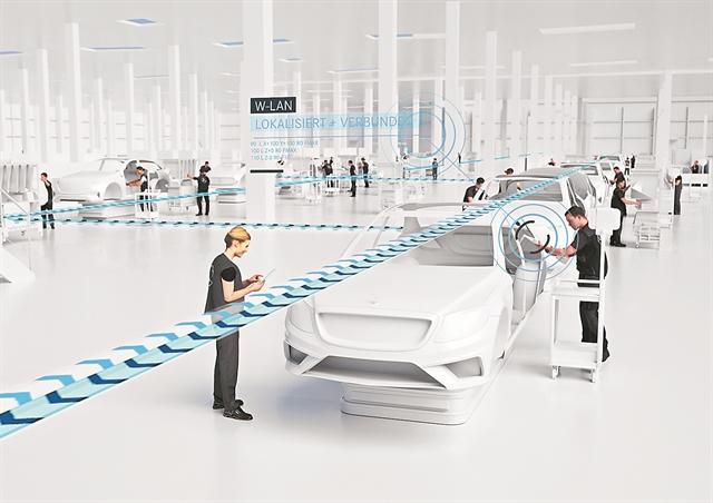 Στο εργοστάσιο του μέλλοντος της Mercedes-Benz | tovima.gr