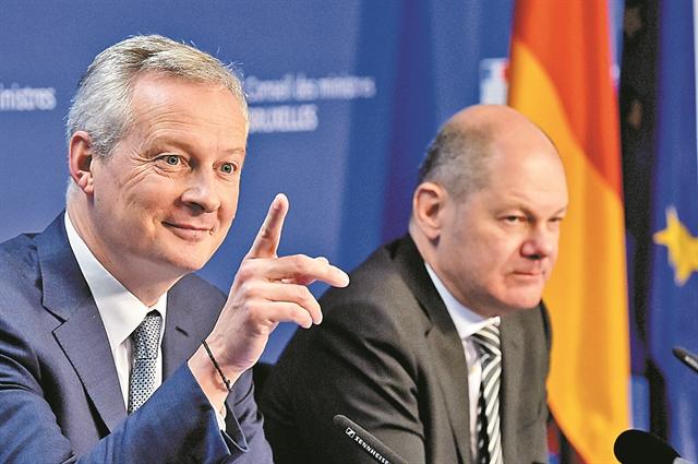 Γαλλογερμανική συμφωνία για τη φορολόγηση των τεσσάρων γιγάντων | tovima.gr