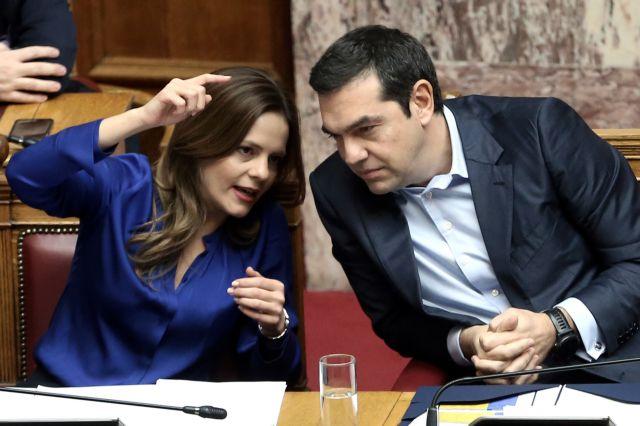 Tsipras touts governments' social profile, blasts New Democracy | tovima.gr
