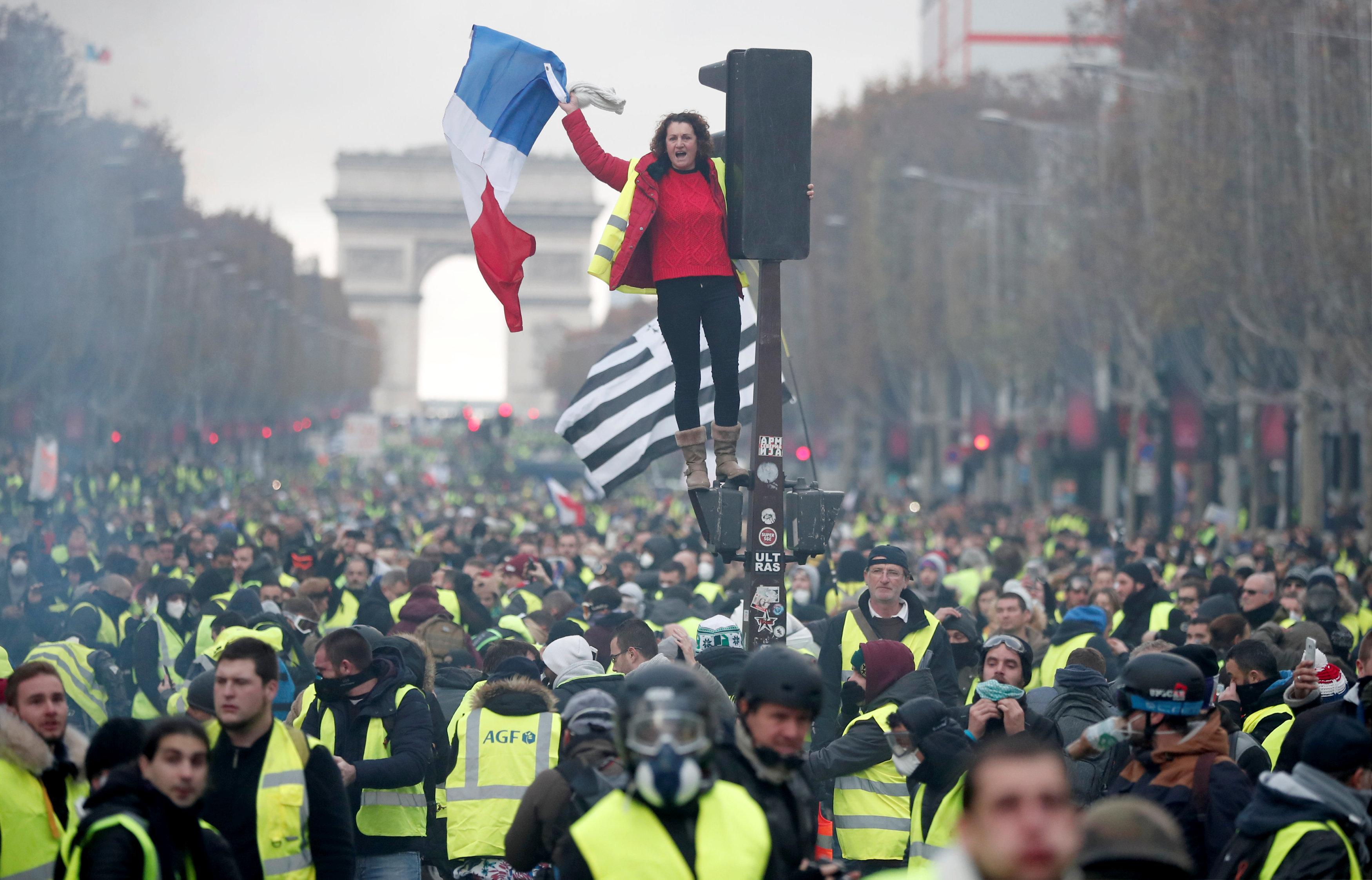 Οι Γάλλοι έχουν μεγάλους