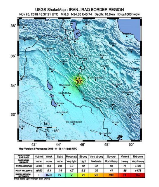Σεισμός στο Ιράν: Εκατοντάδες τραυματίες και νεκρός στο ιρακινό κουρδιστάν | tovima.gr
