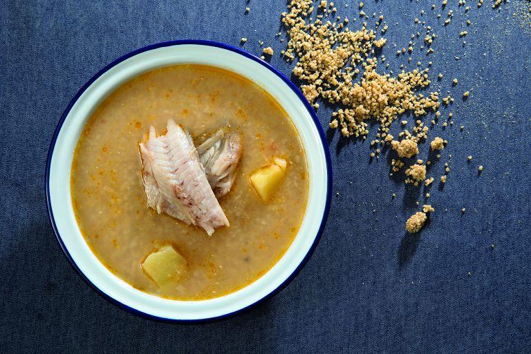 Ψαρόσουπα με τραχανά | tovima.gr