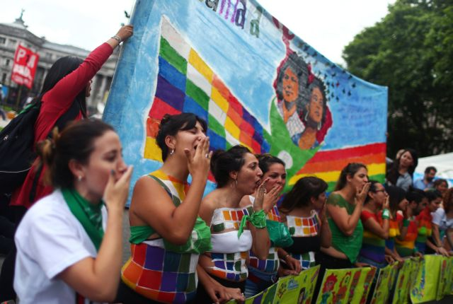 Μπούενος Άιρες: Χιλιάδες πολίτες διαδήλωσαν κατά της G20 (εικόνες) | tovima.gr