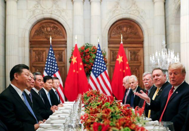 ΗΠΑ – Κίνα: Η εμπορική διένεξη σηκώνει χειρόφρενο για 90 ημέρες | tovima.gr