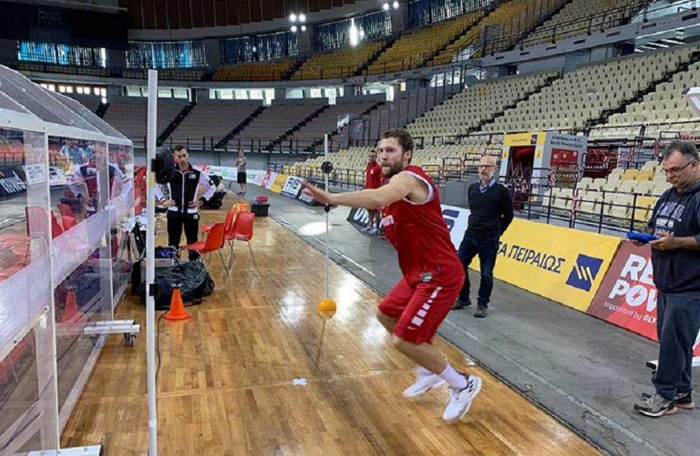 Ολυμπιακός: Μία διαφορετική «δοκιμασία» στο ΣΕΦ (pics) | tovima.gr