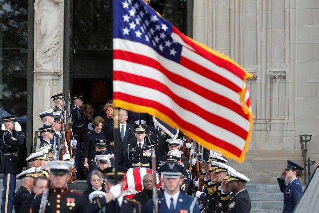 ΗΠΑ: Υστατο Χαίρε στον Τζορτζ Μπους | tovima.gr
