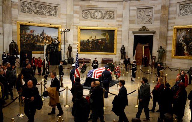 ΗΠΑ: Ημέρα εθνικού πένθους – Στην κηδεία του Τζορτζ Μπους ηγέτες από όλο τον κόσμο | tovima.gr