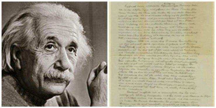 Τρία εκατομμύρια δολάρια δημοπρατήθηκε το «γράμμα του Θεού» του Αϊνστάιν | tovima.gr