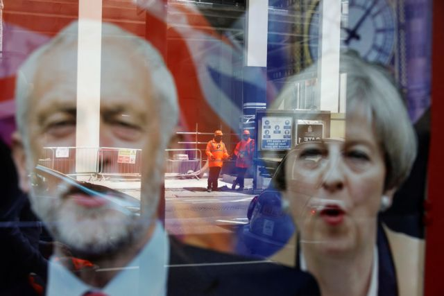 Βρετανία: Ακυρώθηκε το debate Μέι – Κόρμπιν | tovima.gr