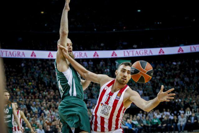 Κατέρρευσε στο β' ημίχρονο ο Ολυμπιακός, έχασε με 83-75 από τη Ζαλγκίρις | tovima.gr