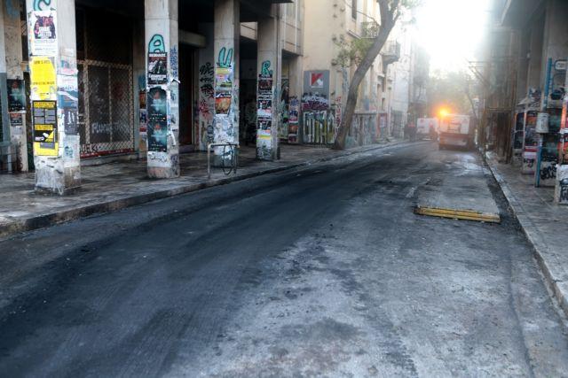 Εξάρχεια – Αριστοτέλειο : Σκηνές καταστροφής μετά τα επεισόδια | tovima.gr