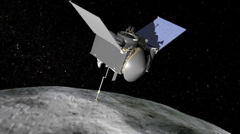 NASA : Το σκάφος Osiris-REx ανακάλυψε ίχνη νερού στον Μπενού | tovima.gr