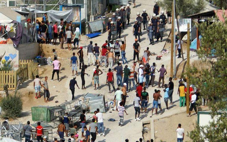 Μόρια: Νεκρός από μαχαίρι μετανάστης – συνελήφθησαν δύο | tovima.gr