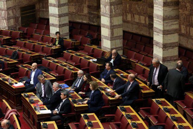 Με καβγάδες μεταξύ βουλευτών ξεκίνησε η συζήτηση επί του προϋπολογισμού | tovima.gr