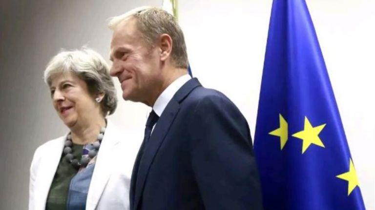 Brexit : Στη μάχη της διαπραγμάτευσης ξανά η Μέι – Συναντήσεις με Τουσκ – Βάραντκαρ | tovima.gr