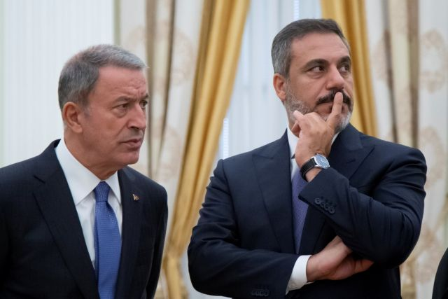 Turkish Defence Minister: Ankara will protect 'interests' in waters of Cyprus, Greece | tovima.gr