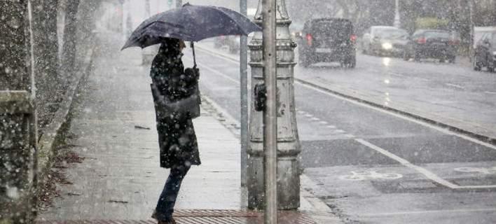 Με βροχές και καταιγίδες συνεχίζεται η κακοκαιρία | tovima.gr