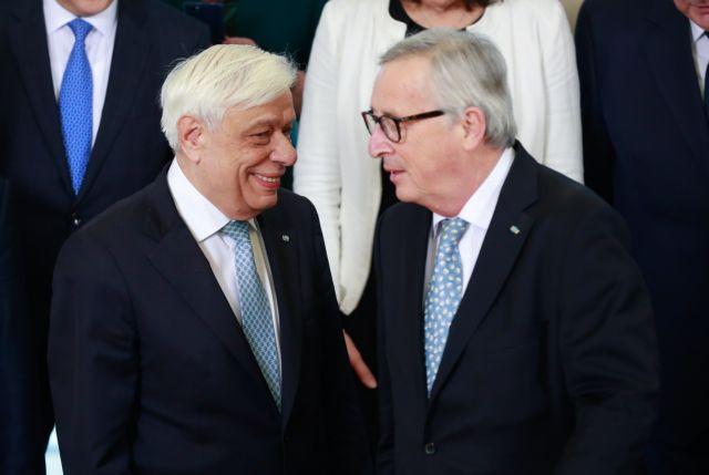 Συνάντηση Παυλόπουλου – Γιούνκερ στις Βρυξέλλες | tovima.gr
