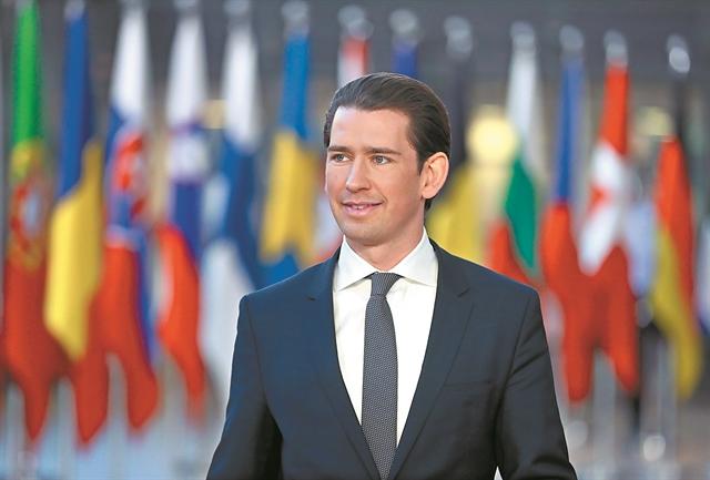 Σεμπάστιαν Κουρτς: «Ιστορική ευκαιρία η συμφωνία των Πρεσπών» | tovima.gr