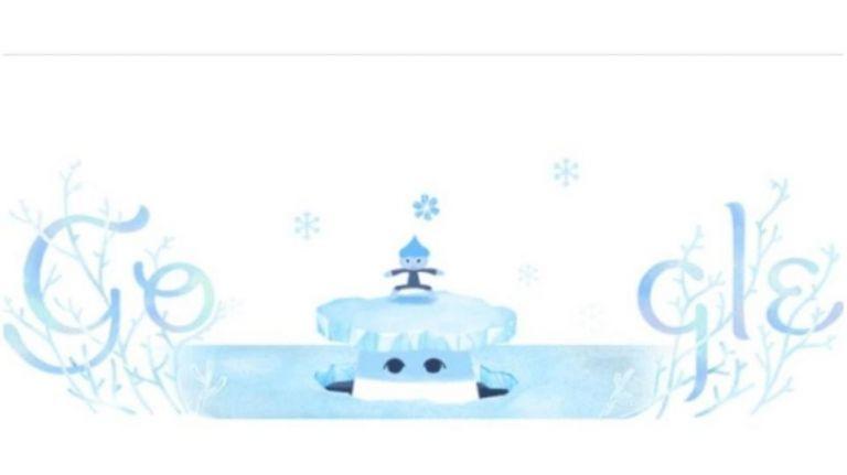 Google Doodle: Αφιερωμένο στο χειμερινό ηλιοστάσιο | tovima.gr