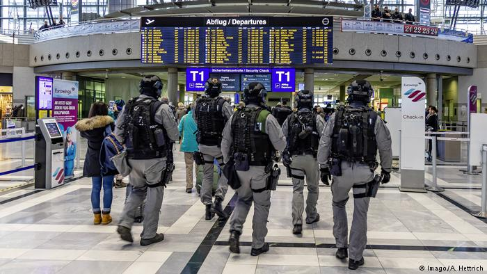 Αυξημένα μέτρα ασφαλείας σε 14 γερμανικά αεροδρόμια | tovima.gr