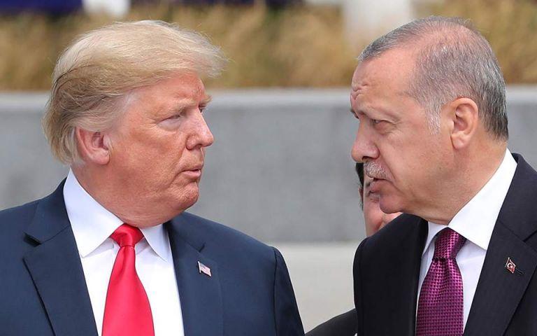 Ο Τραμπ επιβεβαίωσε την συνομιλία με Ερντογάν για τη Συρία | tovima.gr