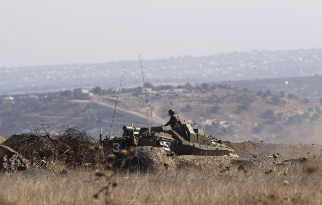 Ισραήλ: Πυρ εναντίον «ενόπλων» στα Υψίπεδα του Γκολάν | tovima.gr