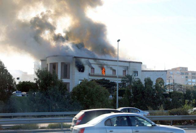 Λιβύη: Επίθεση κατά του υπουργείου Εξωτερικών στην Τρίπολη | tovima.gr