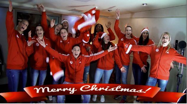Ολυμπιακός: Η γυναικεία ομάδα μπάσκετ τραγουδά το «Last Christmas» | tovima.gr