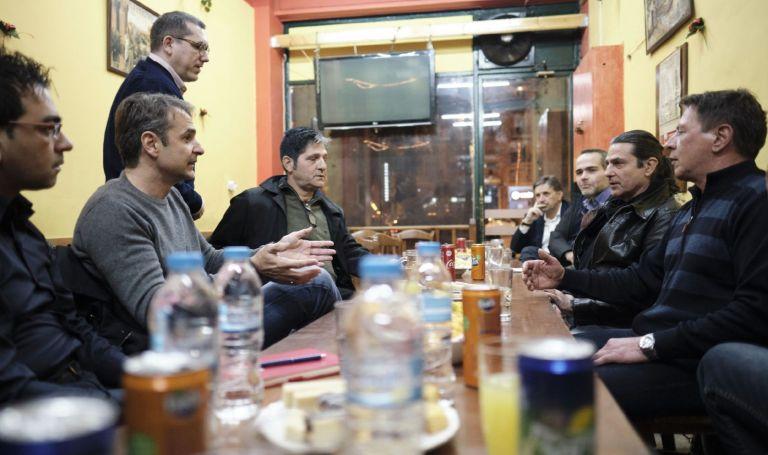 Με πρώην χρήστες ναρκωτικών συναντήθηκε ο Κυρ. Μητσοτάκης | tovima.gr