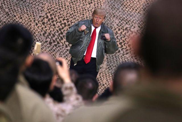 Τραμπ : Επίσκεψη – έκπληξη Τραμπ στα αμερικανικά στρατεύματα στο Ιράκ | tovima.gr