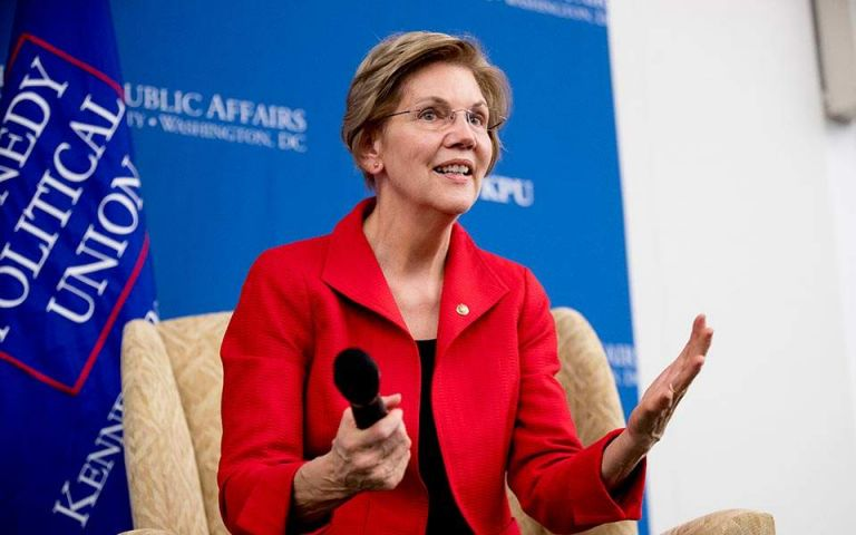 Προχωρά την υποψηφιότητά της για πρόεδρος των ΗΠΑ η Ελίζαμπεθ Ουόρεν | tovima.gr