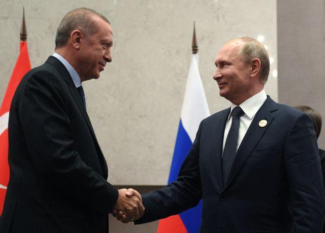 Ερντογάν-Πούτιν συναντώνται για την αμερικανική αποχώρηση από την Συρία   tovima.gr